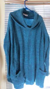 ladies sweater size 3x