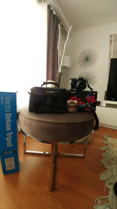 Canon EOS Rebel T6i **used only twice like new**