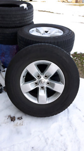 2014 dodge ram rims and tires