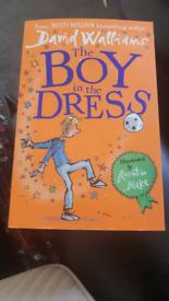 The boy in the Dress { David walliams}