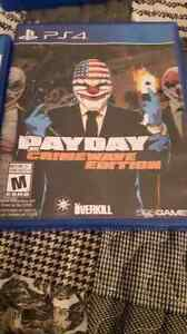 Selling mint condition payday 2