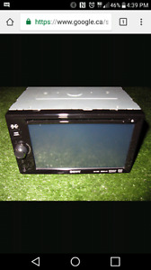 Sony touch screen stereo