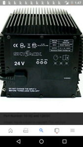 Skyjack 24 volt battery charger or any 24 volt depp cycle