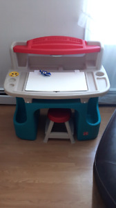 KIDS - Learning/crafts desk $40 with lots of storage