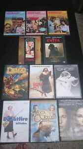 Dvds: $5 each or three for $10