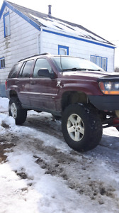 2000 jeep grand Cherokee trade for race quad