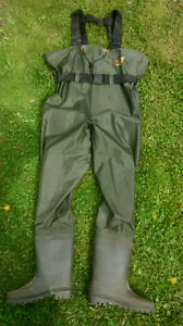Chestwaders - Size 11 Kitchener / Waterloo Kitchener Area image 1