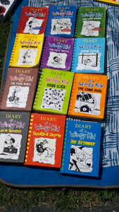 Diary of a Wimpy kid series 12 books