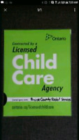 Licensed Home Child Care in Chesley