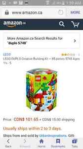 5 used and mostly retired Lego Duplo sets available  Kitchener / Waterloo Kitchener Area image 6