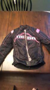 Woman's small bike jacket.  Like new