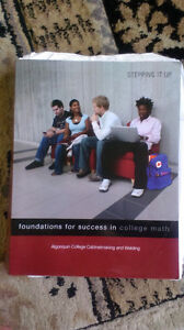 stepping it up: foundations for success in college math