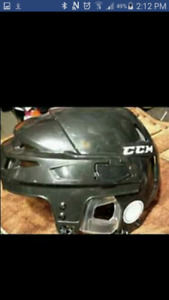 CCM Hockey helmet/Fits up to 13/14 yrs old $70$ used once