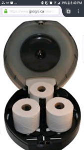 3 roll bay bathroom tissue dispenser