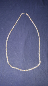 25inch gold rope chain