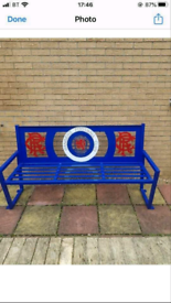 Glasgow Rangers bench