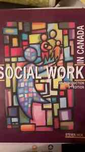 Social work an introduction 3rd edition Cambridge Kitchener Area image 1