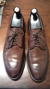 $550 Allen Edmonds Brown Dress Oxfords 11E