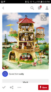 Calico Critters Large Treehouse