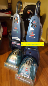 Bissell pro heat carpet cleaners