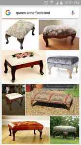 Looking for a queen anne foot stool