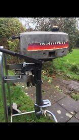 Mariner Yamaha 2hp Short Shaft outboard only 10.5kg