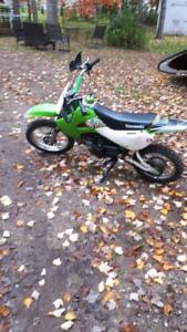 2006 4 stroke klx110 bike please  read