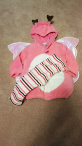 12-24mo butterfly costume EUC