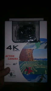 Brand new ultra 4k auction gopro style camera
