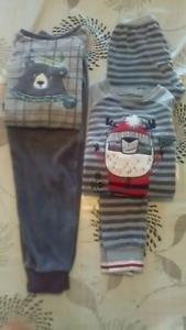 Pyjamas  garçon 5/6 ans velours Souris mini