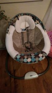 Chaise bébé berçante