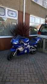 Yamaha r6 low miles