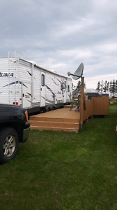 Camper for rent at Plage Gagnon Beach in Grand Barachois