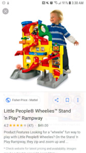 Fisher Price Little People Raceway