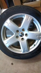 Rims & tires from 2012 Dodge Journey R/T