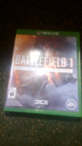 Battlefield 1 Xbox One and EA 1 mth subscription