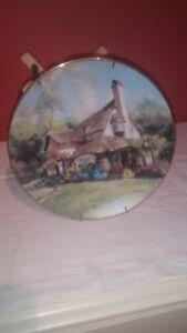 The Periwinkle Tea Room collector's plate by Marty Bell.