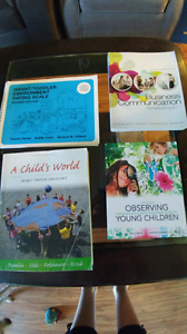 First and second year early childhood education books
