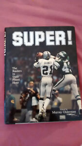 SUPER! The Raiders In Their Finest Hour HARDCOVER BOOK