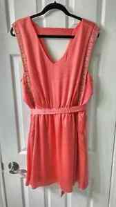 NWOT Coral Forever 21 Dress 1x