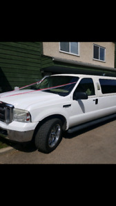 2005 FORD EXCURSION LIMOUSINE FOR SALE  $20,000 OBO