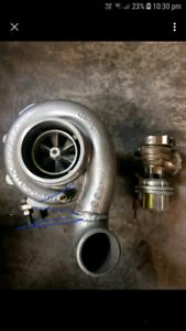 Garrett turbo 4094r and wastegate with intercooler,extractors,  Deer Park Brimbank Area Preview