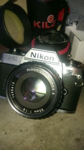 Nikon FG20 35mm Camera