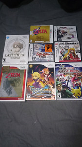 Brand new sealed games from different platform