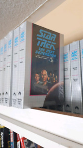 Star Trek TNG  VHS Collectors edition complete serie