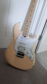 Sterling by Music Man Cutlass HSS Electric Guitar in Vintage Cream