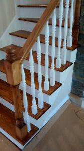 Sanding,stairs,color stain good quality West Island Greater Montréal image 1