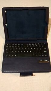 Tablet case and keyboard