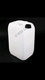 Plastic barrel 25 litre