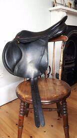 Albion kontact lite xc saddle 17.5 inch MW. Black